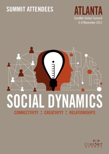 SOCIAL DYNAMICS - CoreNet Global