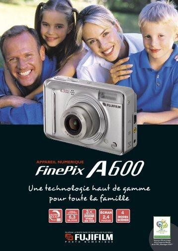 Fiche produit FinePix A600.pdf