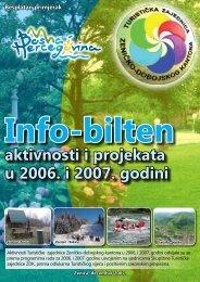 aktivnosti i projekata u 2006. i 2007. godini - Turistička zajednica ...
