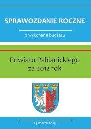 Załącznik 1 - Powiat Pabianicki - Pabianice