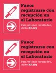 Please check in with the receptionist at the Laboratory Please check ... - Page 2