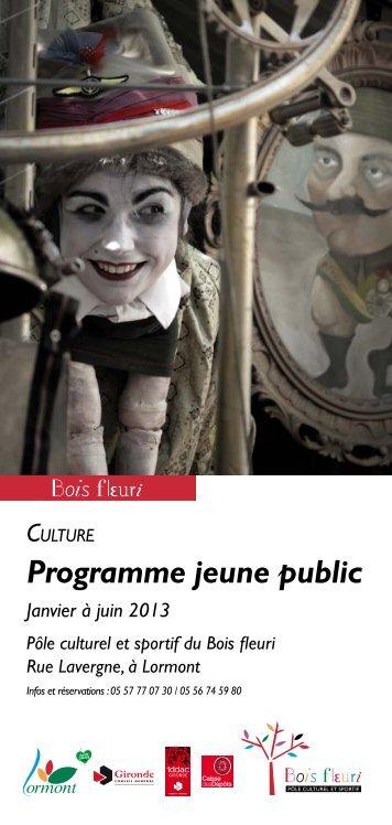 Programmation jeune public - Lormont