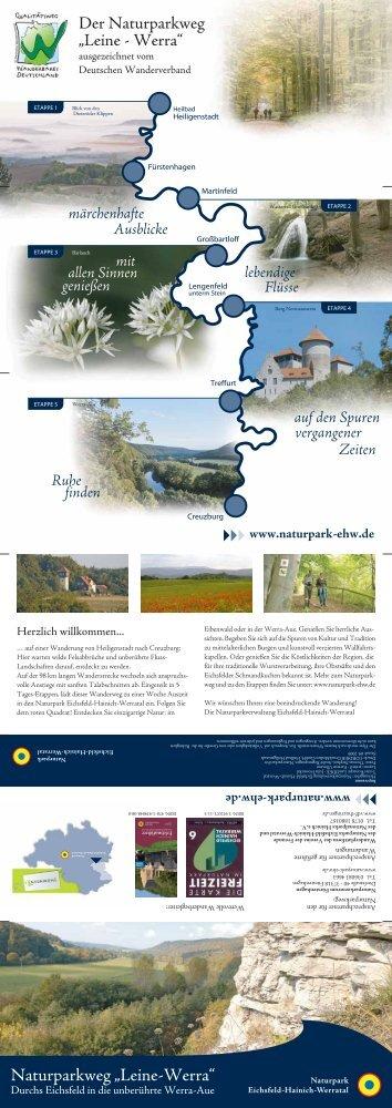 Flyer Naturparkweg Leine-Werra - Naturpark Eichsfeld-Hainich ...
