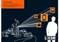 Bereichsbroschüre - Leicom AG