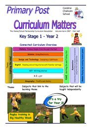 Primary Post Curriculum Matters Year 2 Autumn 2 2007 - No Access ...