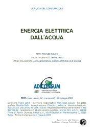 Energia elettrica dall'acqua - (USL) di Rimini