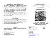 Programm für 2011/12 - Bund Naturschutz Kreisgruppe Ansbach