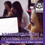 Administración + Comercialización