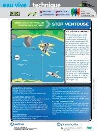stop ventouse - FFCK