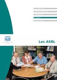 Les ASBL – Brochure du Service Public Fédéral Justice - AES
