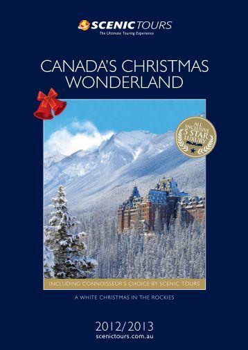 CANADA'S CHRISTMAS WONDERLAND - Scenic Tours