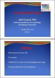 Adel Gamal MD Adel Gamal, MD Assistant professor of cardiology ...