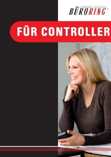 """Büroring Leistungsbroschüre """"Für Controller"""" - BMC-Marketing"""