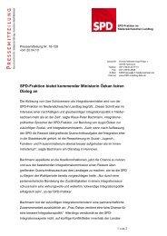 Pressemitteilung vom 20.04.2010 - Klaus-Peter Bachmann