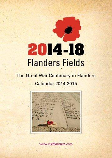 The Great War Centenary in Flanders Calendar 2014-2015