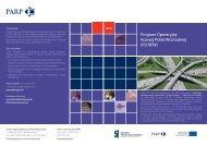 Program Operacyjny Rozwój Polski Wschodniej (PO RPW)