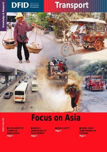 PDF (1043 KB) - Transport for Development