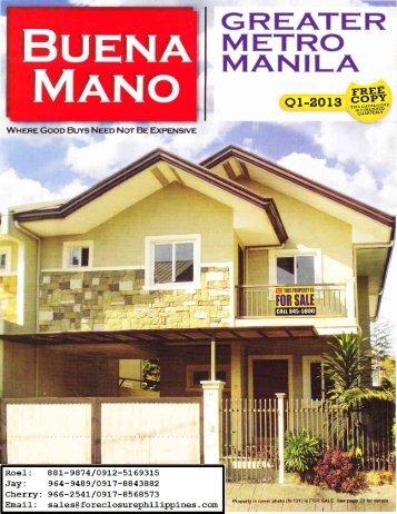 Buena Mano Q1-2013 Greater Metro Manila catalog