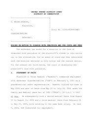 Radecki v. GlaxoSmithKline - Connecticut Employment Law Blog