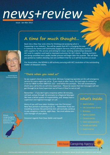 A time for much thought... - McIsaac Caregiving Agency