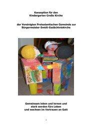 Konzeption für den Kindergarten Große Kirche der ... - Ki·ON