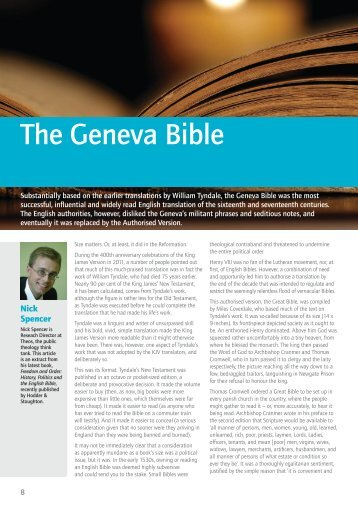 The Geneva Bible - Bible Society
