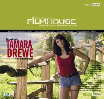 TAMARA - Filmhouse Cinema Edinburgh