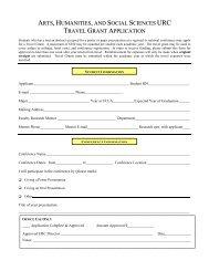 Travel Grant Form - Division of Undergraduate Education