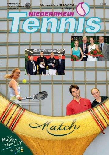 Februar-März · NT 2-3/2010 - Tennis-Verband Niederrhein e.V.