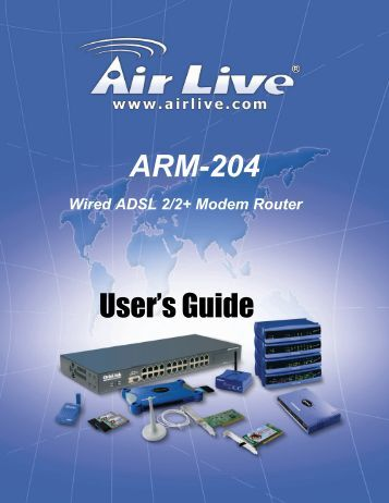 Airlive Arm 104 manual