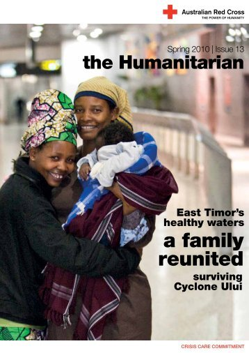 a family reunited - Australian Red Cross