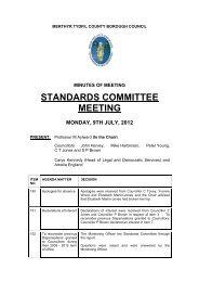 STANDARDS COMMITTEE MEETING - Meetings, agendas, and ...