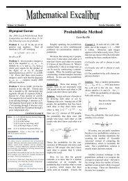 Probabilistic Method - Department of Mathematics - The Hong Kong ...