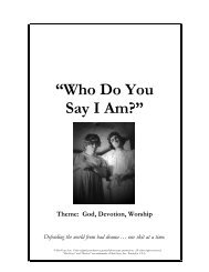 """""""Who Do You Say I Am?"""" - Youth Specialties"""