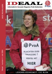ideaal mei 2004.pdf - PvdA Rotterdam