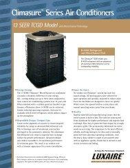 Climasure Series Air Conditioners - LSKair