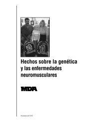 Genética y las enfermedades neuromusculares