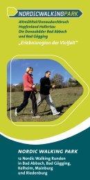 nordic walking park - Tourismusverband im Landkreis Kelheim