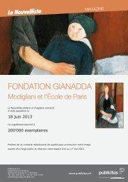 Fondation Gianadda - Le Nouvelliste – Publicité Presse Internet ...