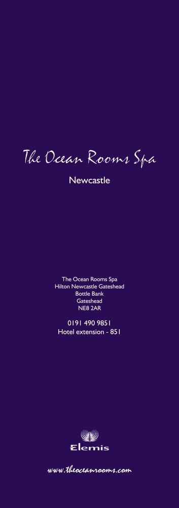 Spa price list - LivingWell Health Clubs