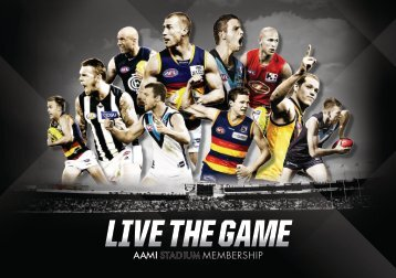 LIVE THE GAME - AAMI Stadium
