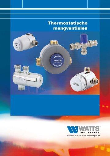Thermostatische mengventielen - WATTS industries