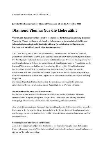 Diamond Vienna: Nur die Liebe zählt - GeschichtenWerk