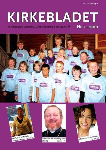 Kirkebladet nr 1 2010 - Kirken i Gran