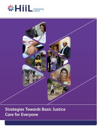Strategies Towards Basic Justice Care for Everyone - HiiL