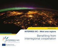 Benefiting from interregional cooperation - Interreg IVC