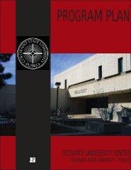 CSU-Pueblo OUC Program Plan - Colorado State University-Pueblo