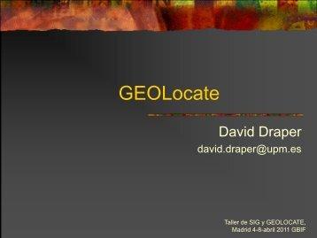 Introducción a GEOLocate - Gbif.es