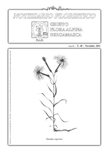 NOV 2011 - Gruppo Flora Alpina Bergamasca