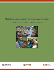 Mobilizing Communities for Improved Nutrition: A ... - CMAM Forum